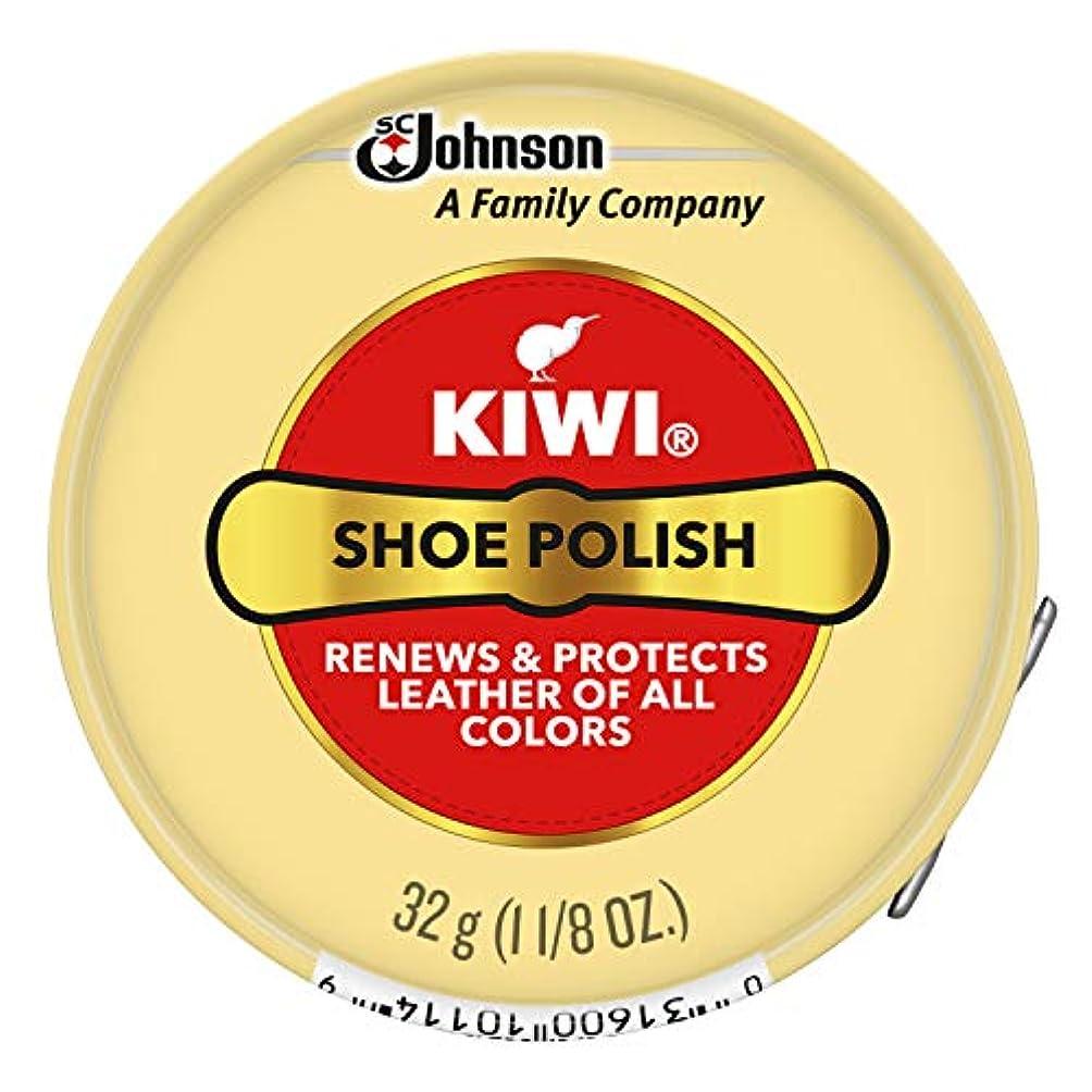 修正ヒューム名目上のKiwi Neutral Shoe Polish 30g (並行輸入品)