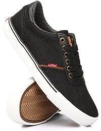 (リーバイス) Levi's メンズ シューズ・靴 スニーカー aiden denim low sneakers [並行輸入品]