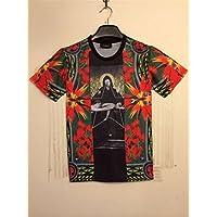 Women Men Unisex 3D Print Galaxy Animal hipster Tee Shirt(red)
