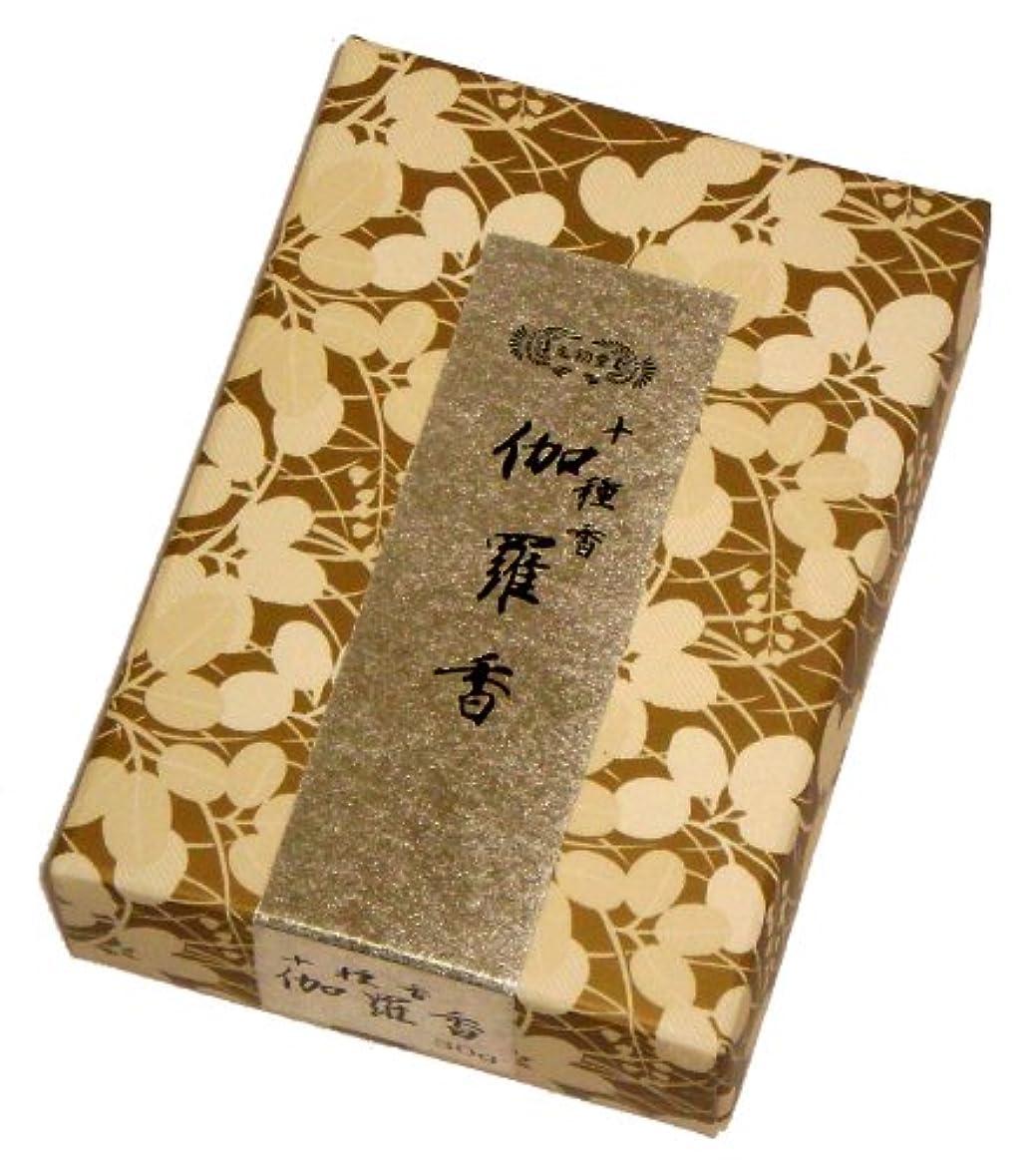 ゆりジュース同意玉初堂のお香 伽羅香 30g #535