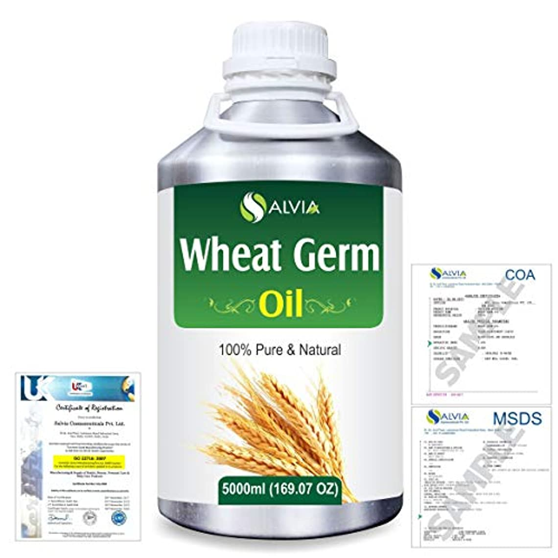 エンゲージメント本を読むチキンWheat Germ (Triticum aestivum) 100% Natural Pure Essential Oil 5000ml/169fl.oz.