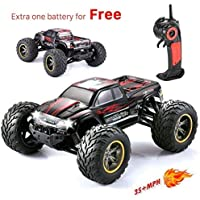 GP-NextX RC Car S911 35+MPH High Speed Electric Vehicle Off Road Remote Control Monster Truck in Red 【You&Me】 [並行輸入品]