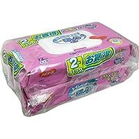 通販トイレに流せるパツとおしりふき72枚入2個パツク × 12個セット