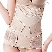 BESTNEWBORN Postpartum Belly Band 3 Belts in 1, Postnatal Wrap Post C Section Recovery Girdle Binder