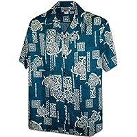 Pacific Legend Polynesian Honu Men's Hawaiian Shirt