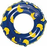 ドウシシャ 浮き輪 バナナネイビー 110cm