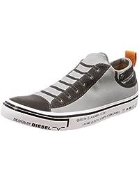 (ディーゼル) DIESEL ユニセックス スニーカー IMAGINEE S-IMAGINEE LOW SLIP-ON - sneakers Y01700PR238 39 (25cm) グレー T8084