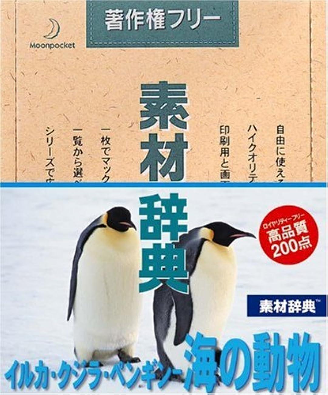 地質学ノート火炎素材辞典 Vol.72 イルカ?クジラ?ペンギン 海の動物編