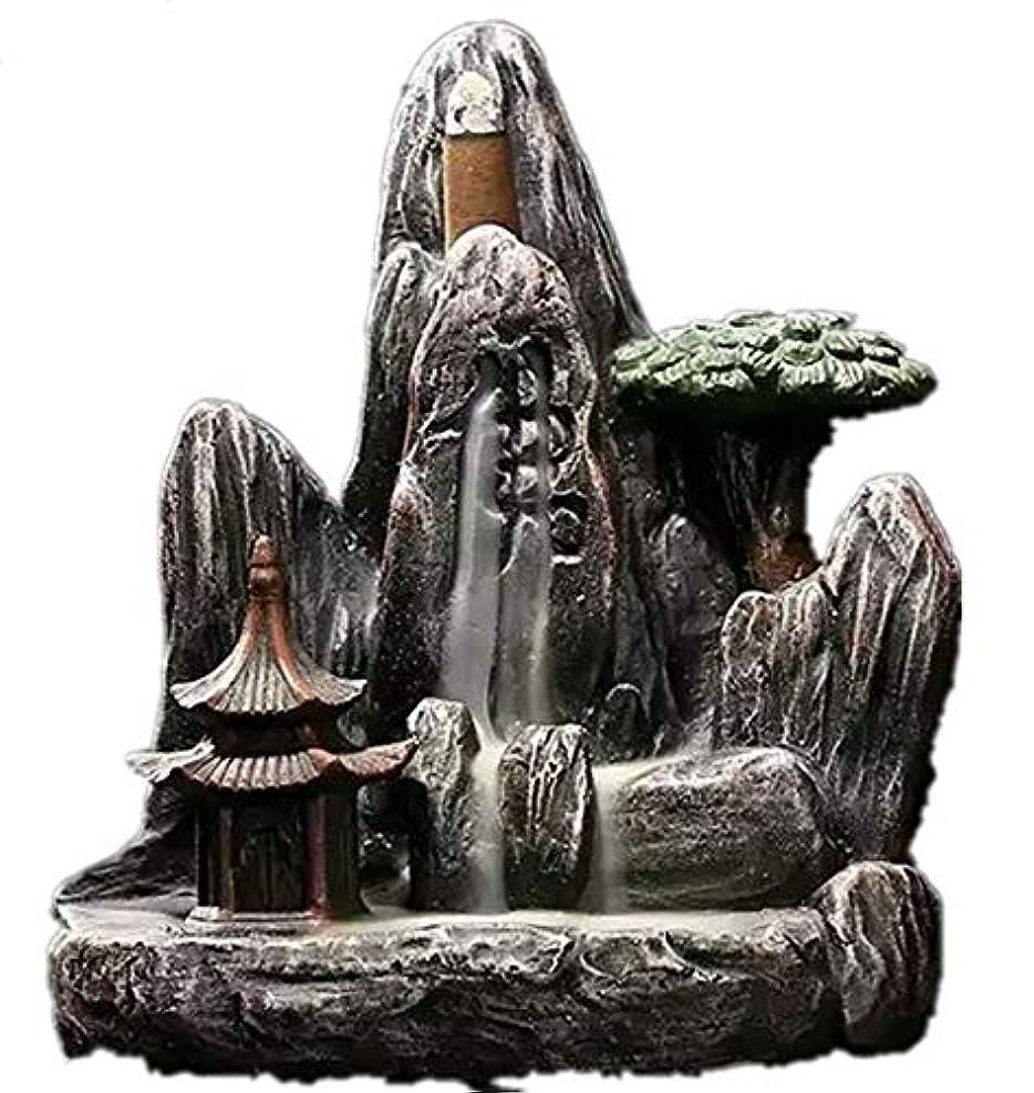 我慢する貢献エンディングXPPXPP Backflow Incense Burner, Household Ceramic Returning Cone-shaped Candlestick Burner
