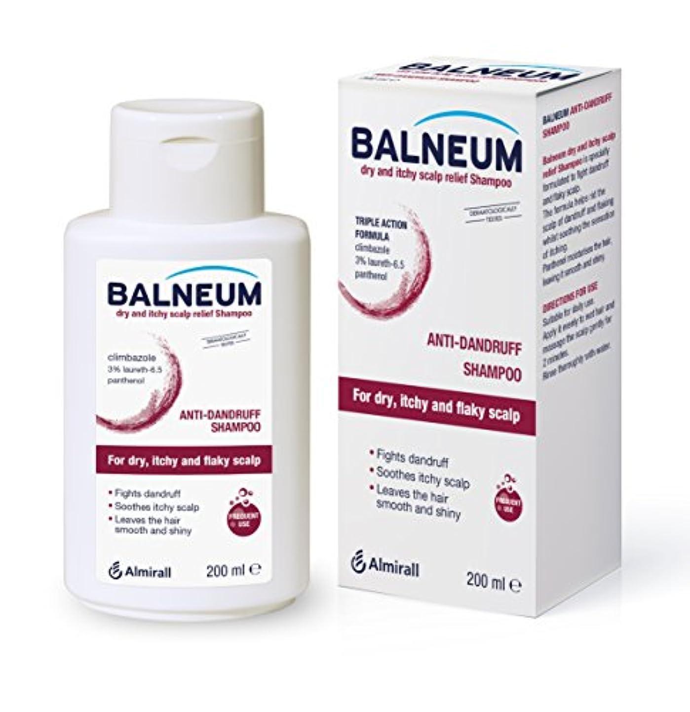 八司法抑圧Balneum Dry and itchyスカルプリリーフシャンプー、200 ml