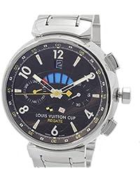 [ルイ・ヴィトン]LOUIS VUITTON 腕時計 タンブールクロノレガッタ LVカップ自動巻き Q1021 メンズ 中古
