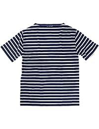 (セントジェームス)SAINT JAMES 半袖Tシャツ ピリアック ボーダー