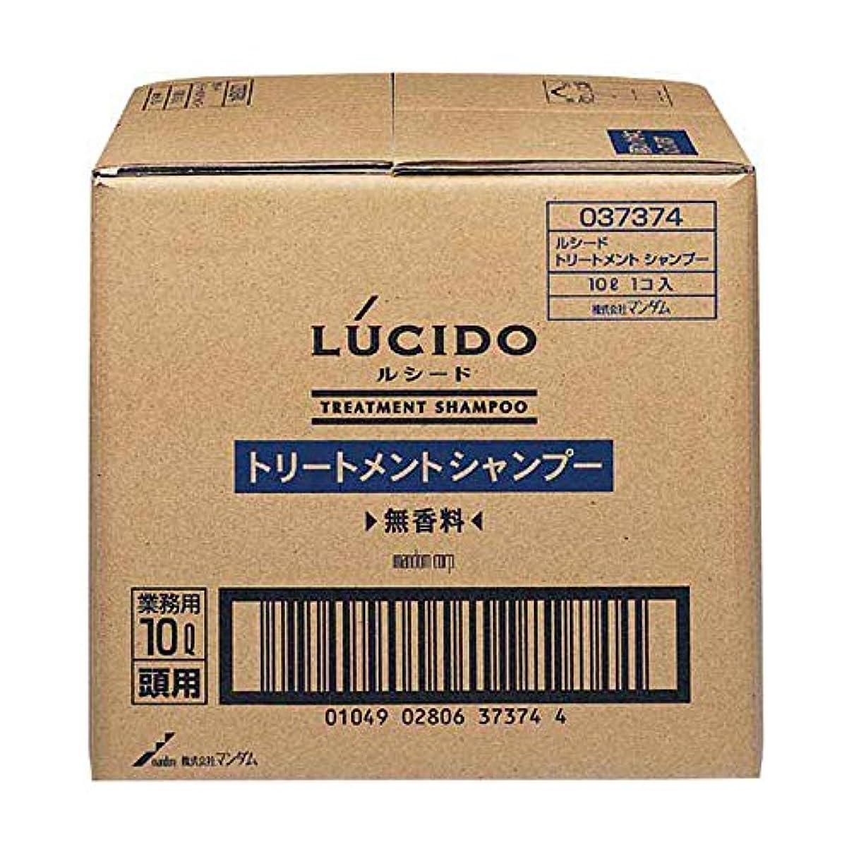 デクリメントオーク突き刺すLUCIDO (ルシード) トリートメントシャンプー 業務用 10L
