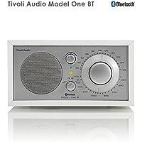 Tivoli Audio チボリオーディオ Model One BT (ホワイト/シルバー) M1BT-1770-JP <Bluetoothワイヤレス AM/FMラジオ・スピーカー>