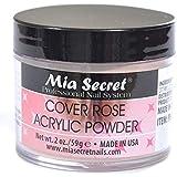 Mia Secret カバーローズアクリルパウダー2オンス