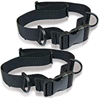 Precthings チェストストラップ チェストベルト リュックサック ずれ落ち防止 肩紐をピタッと固定 通勤/通学/アウトドア 調整可能/フリーサイズ 2個セット