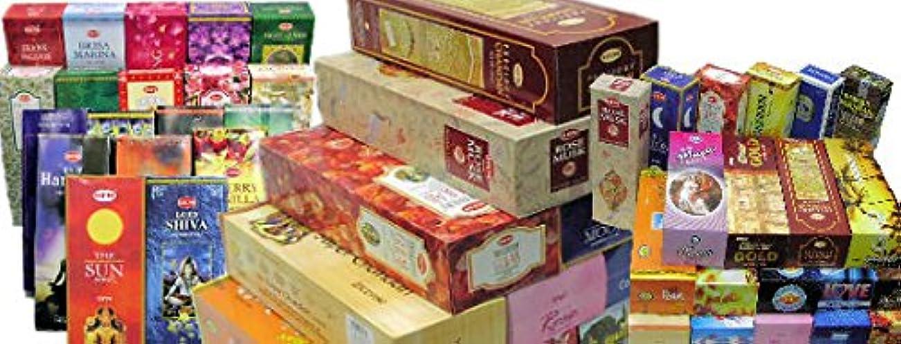 アラブ人株式好きであるHEM社 スティック香6箱入り50ケース 合計300箱 お任せアソートセット 【業務用】