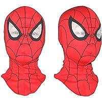 MyMei マーベル スパイダーマン マスク ヒーローマスク  なりきりマスク コスチューム用小物 スパイダーマンおもちゃ 子供用・大人用 フリーサイズ 仮装 衣装 イースター ハロウィン パーティ 学園祭 パロディ