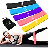 Risefit Set of Power Gliding Discs and Latex Resistance Bands Rapid Strength Training Fitness Dance Workout, Pilates, Muscle Shaping and Yoga Crossfit