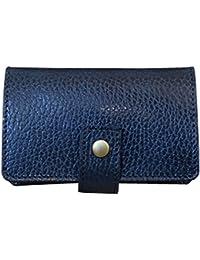 LITSTA Coin Wallet(DARK-BLUE/型押し)