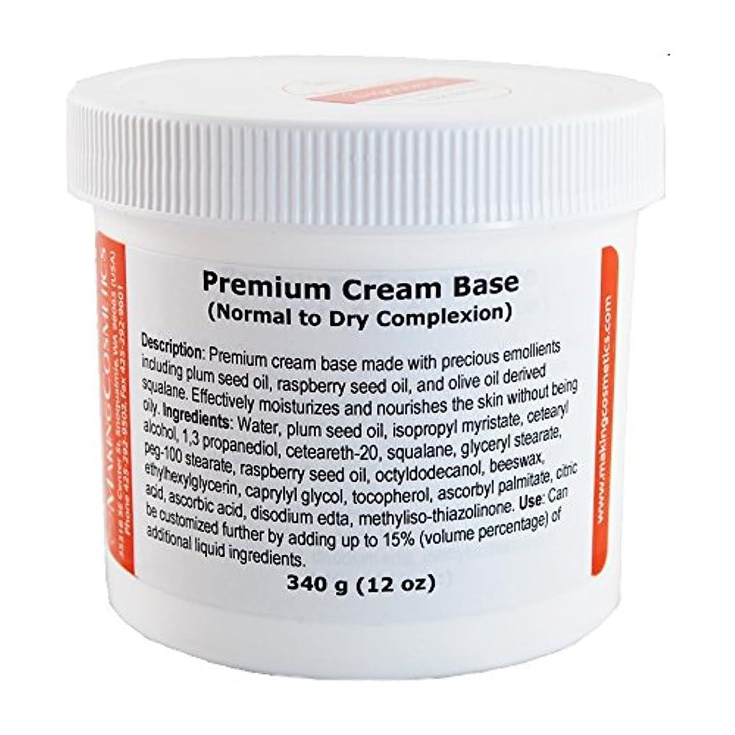 漏斗手順モッキンバードMakingCosmetics Base, Premium Cream - プレミアムクリームベース (340g)