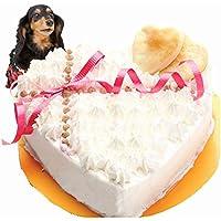 犬用手作りケーキ GirlyDeco 4号ササミ入り ワンちゃん大喜び オヤツ ごちそう プレゼント記念日 人気 無添加 イベント お祝い 、お誕生日ケーキ 帝塚山WANBANA ワンバナ