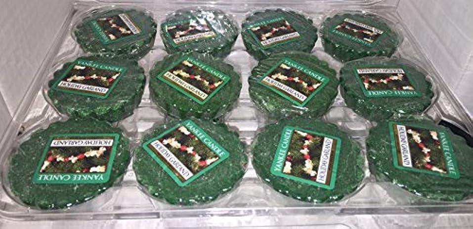 変装邪悪なむちゃくちゃYankee Candle Lot of 12 HolidayガーランドTartsワックスMelts