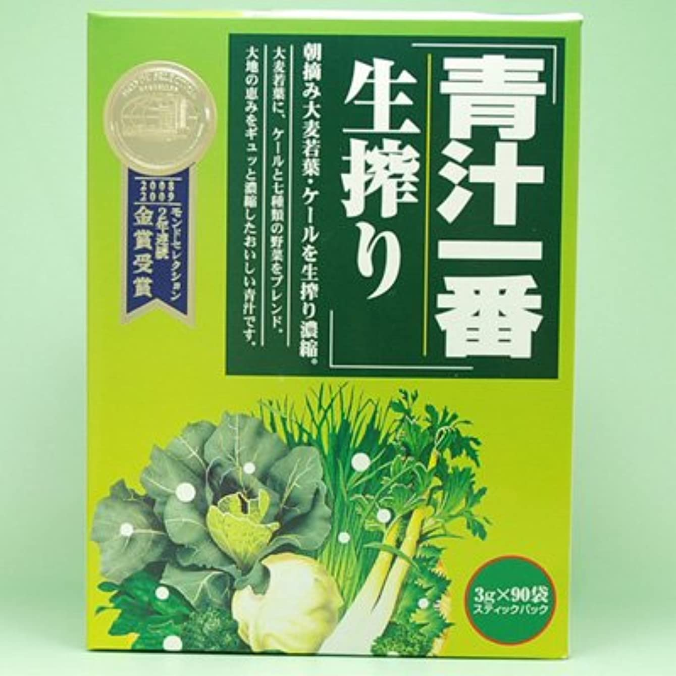 重要性名前適応コーワリミテッド 青汁一番生搾り 3g*90包 (#646800) ×6個セット