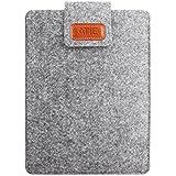 スリーブケース - ATiC Kindle Oasis (Newモデル) 2017 7インチタブレット用 収納ケース/バッグ Light GRAY