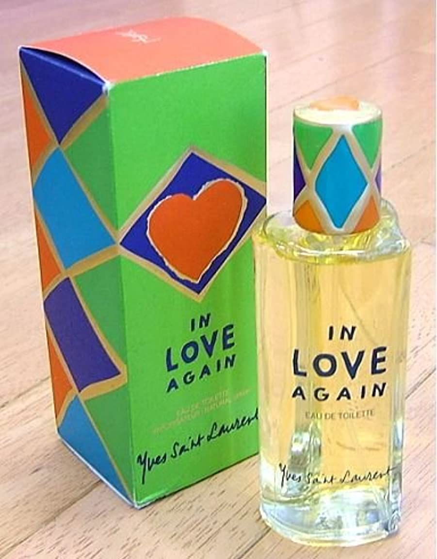 同意海洋オーバーフロー【訳有り】 イヴサンローラン インラブアゲイン EDT 100ml 1998年限定発売 IN LOVE AGAIN (並行輸入)