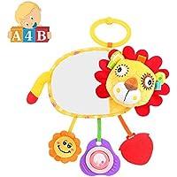 ライオンMusical Baby Hangingベッドベル教育玩具赤ちゃんdistortingミラー、Teether含む、Rattles & Mobiles、動物人形
