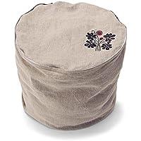 [ベルメゾン] フレンチリネン収納カバー ベージュ系 タイプ:一体ソファー型