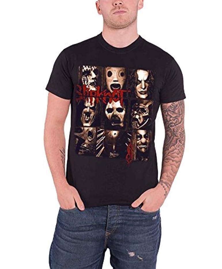 意図的細分化するご注意Slipknot スリップノットMezzotint Decay メゾティント?ディケイ?バンド?ロゴ 公式 メンズ ブラック 黒 Tシャツ 全サイズ