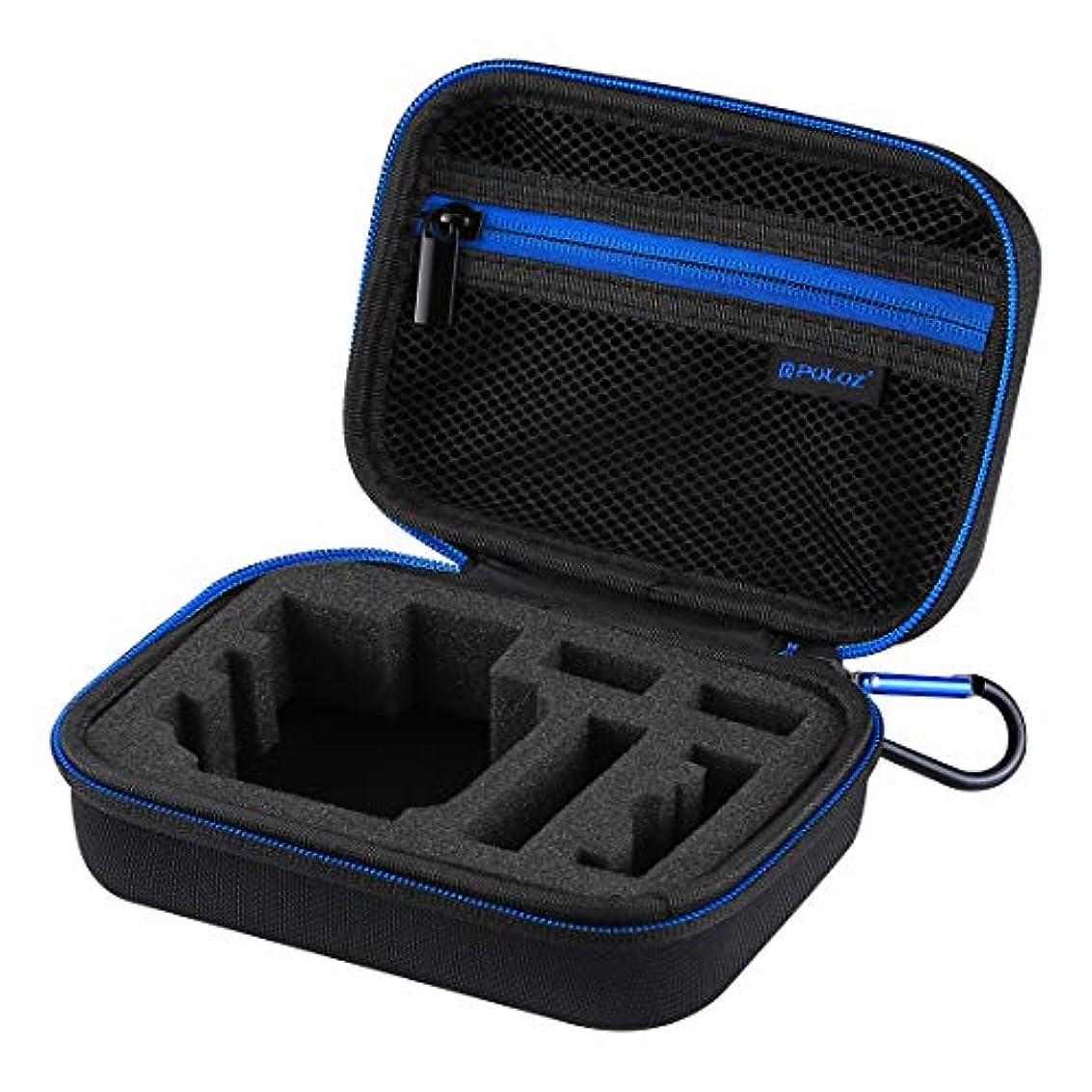議題ページ鉄RAOFEIJP カメラ保護ケース 耐衝撃保護ケース 防水キャリングケース、GoPro HERO6 / 5/4セッション/ 4/3 + / 3/2/1、 U6000およびその他スポーツ用アクセサリ、小型サイズ:16cm x 12cm x 7cm