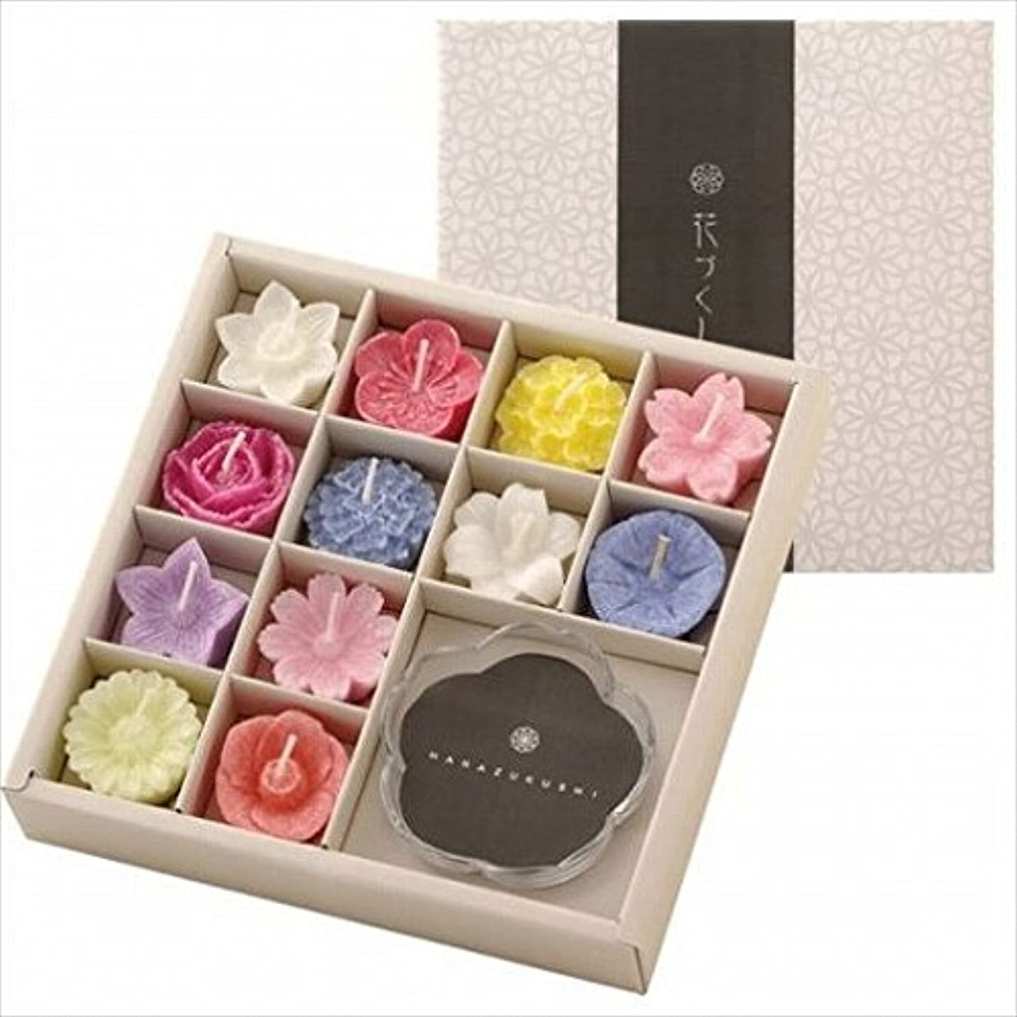 ミス符号確かにkameyama candle(カメヤマキャンドル) 花づくしギフトセット(植物性) キャンドル(96200700)