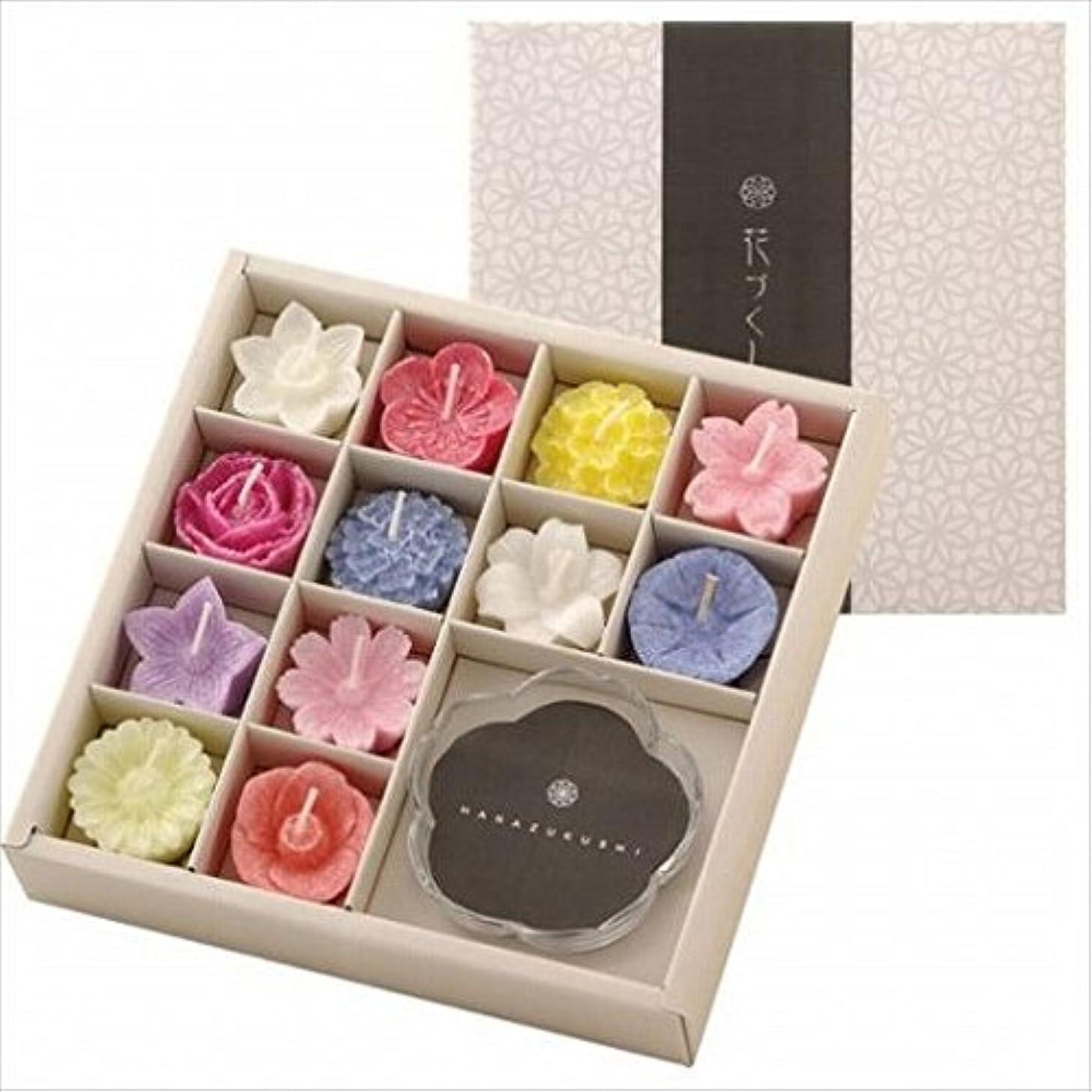 甘くする逆にズームkameyama candle(カメヤマキャンドル) 花づくしギフトセット(植物性) キャンドル(96200700)