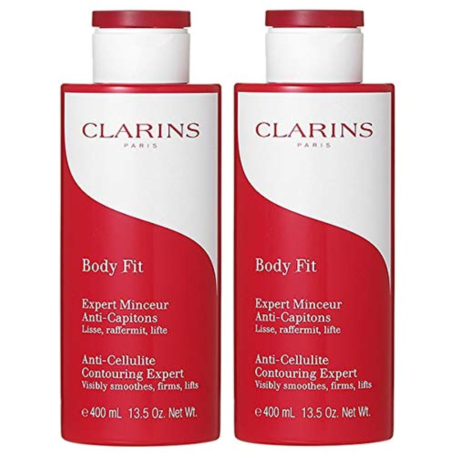 クライアント強度穏やかな【セット】クラランス CLARINS ボディ フィット 400mL 【2個セット】 [並行輸入品]