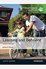 Learning & Behavior by James E. Mazur (2012-01-01) Paperback