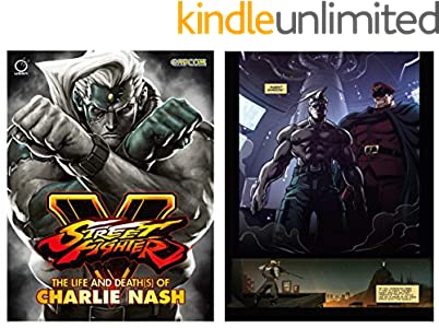 Street Fighter V The Life and Death(s) of Charlie Nash Comic Book (English Edition)