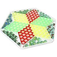 【 Alnair 】 チェッカー 知育玩具 プラスチック ビー玉 ゲーム 【送料無料】 (ビー玉)