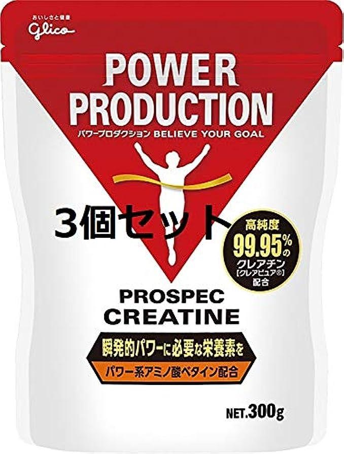 反逆者上へ成功する【3個セット】グリコ アミノ酸プロスペッククレアチンパウダー PROSUPEC CREATINE 300g Glico