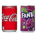 【セット買い】コカ・コーラ 160mlPET×30本 + コカ・コーラ ファンタ グレープ 160ml缶×30本