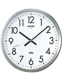 セイコー クロック 掛け時計 電波 アナログ オフィスタイプ 金属枠 KS266S SEIKO