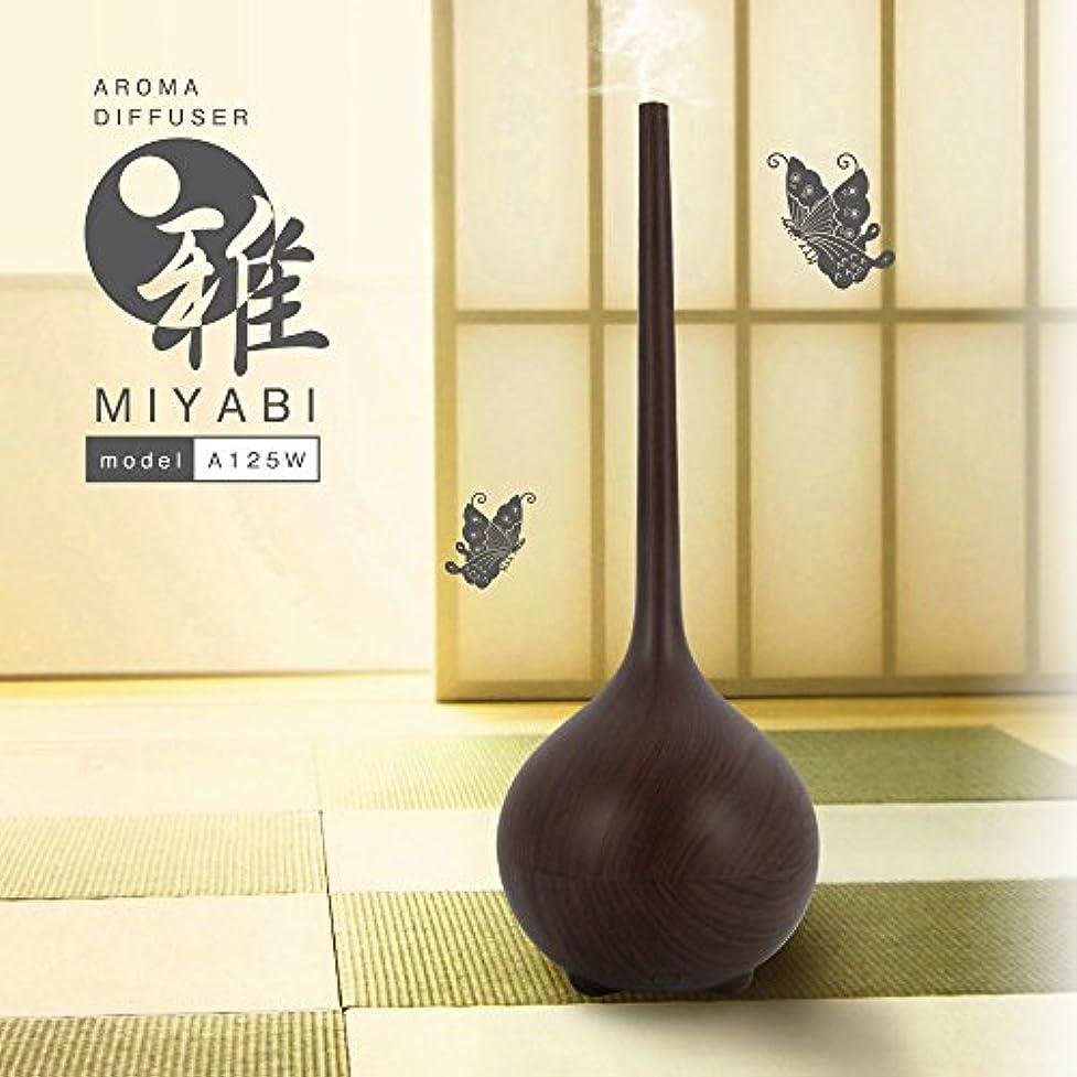 パン中庭交響曲アロマディフューザー雅【木目調】 A125W