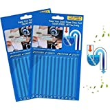 Drain Sticks Drainstix Drain Stix Drain Cleaner Sticks, 24 PCS Drainstix Clog Remover Sticks Pipe Bathtub Decontamination Sti