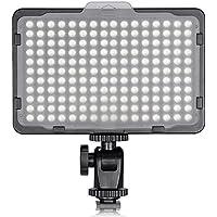 Neewer ビデオライト176 LED球 超高輝度 5600K デジタル一眼レフカメラに使える