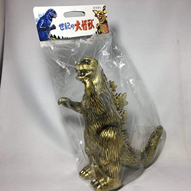 ソフビ 東宝怪獣 ゴジラ1973メガロゴジ 黄金像 怪獣50周年記念