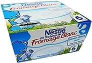 Nestlé P'Tit Onctueux Plain Yogurt, 4 Count