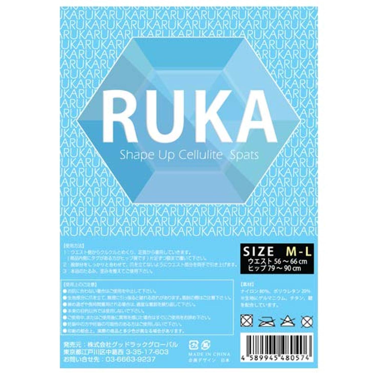 偏見ニュージーランド多様体RUKA Shape Up Cellulite Spats (ルカ シェイプアップスパッツ)
