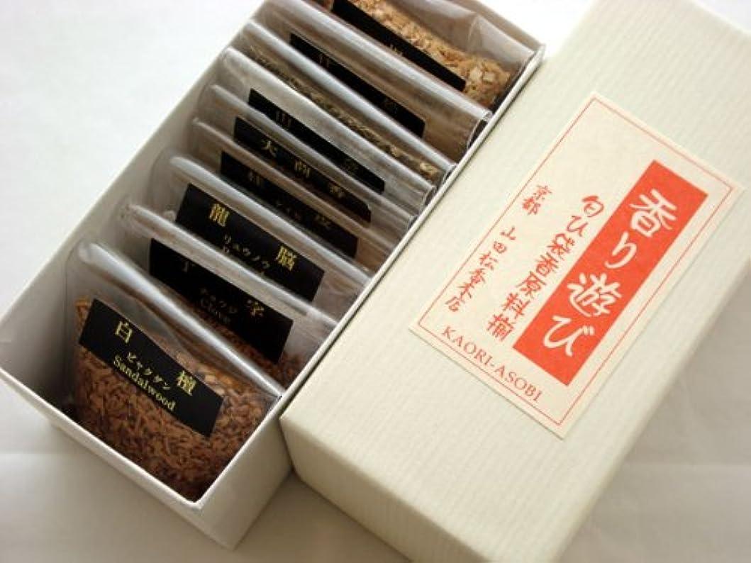 うま擬人化ピッチ香り遊び 手作り匂袋 香原料揃え